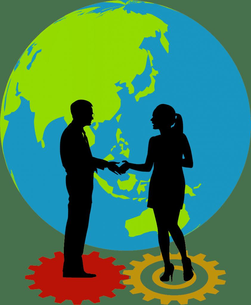 Diagram - Globe & People
